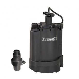 Everbilt UT03301 1/3 HPSubmersible  Automatic Utility Sump Pump 1920 GPH
