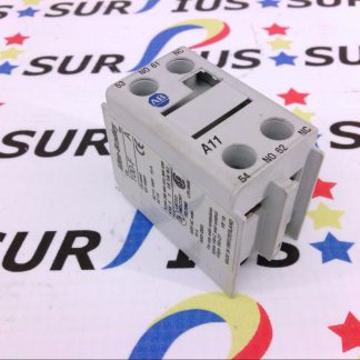 ALLEN BRADLEY AB 100-F A11 SER. B AUXILLARY CONTACT CONTACTOR CONTACT BLOCK