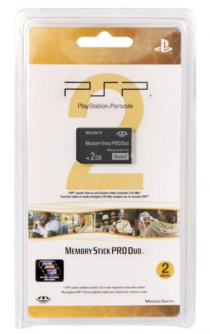 PSP Memory Stick PRO Duo 2GB