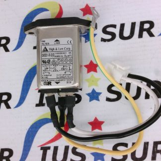 GBC Part 7708726 AC SOCKET High & Low Corp. 06SS1-R-S(S) 115/250VAC 50/60HZ