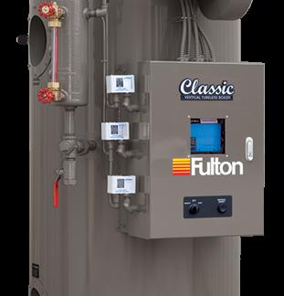 FULTON VERTICLE TUBELESS STEAMER BOILER FB-010-A FB010A 10HP