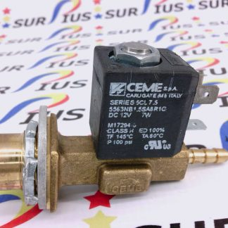 LINCOLN ELECTRIC WELD PAK EASY CORE MIG 9SM17294 GAS SOLENOID VALVE ASSEMBLY