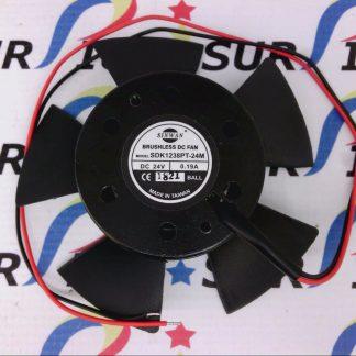 Sinwan SDK1238PT-24M SDK1238PT24M Brushless DC Fan 24V 0.19A