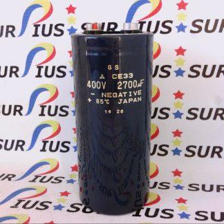 GS CE33 Capacitor 400V 2700uF