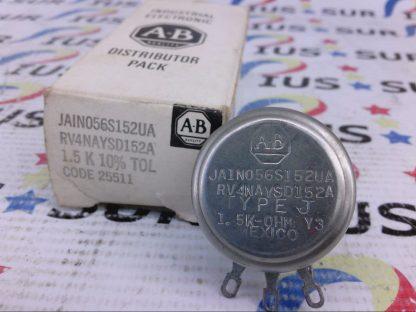 Allen-Bradley AB JAIN056S152UA RV4NAYSD152A J 1.5 K 10% 25511 Potentiometer