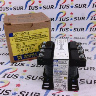 Square D 9070T50D3 Industrial Control Transformer