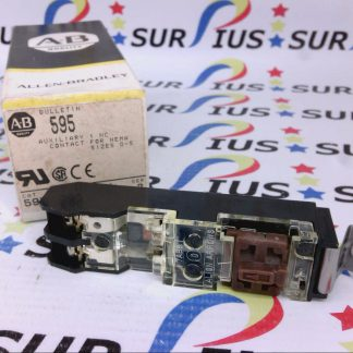 Allen Bradley 595-B 595 Series B Auxiliary 1 NC Contact