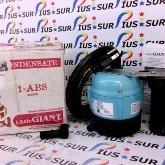 Little Giant 550912 1-ABS 1PH Submersible Condensate Removal Pump 2GZG4
