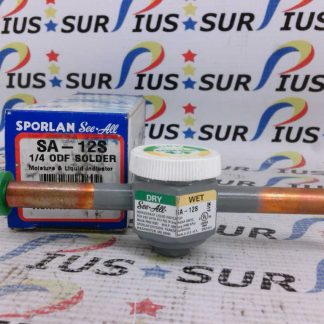 Sporlan See All SA-12S 700052 Moisture and Liquid Indicator 1/4 ODF Solder