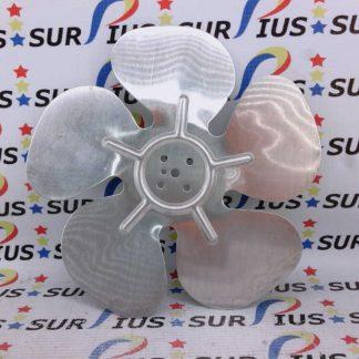 """Hussmann 8"""" 0376413 CW Fan Blade 8.00 AL 10 FB.0376413"""