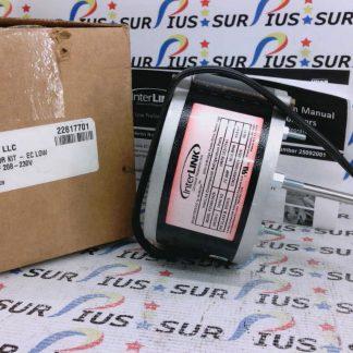 Interlink Motor F2208A3629 25317701 1/15hp 208/230v