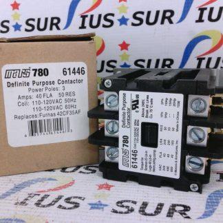 Mars780 61446 Definite Purpose Contactor 3 Poles 42CF35AF