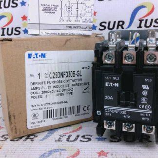 Eaton C25DNF330B-GL Definite Purpose Contactor D1C25DNF330B-GL