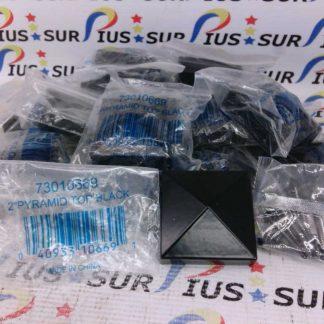Veranda Pack of 15 Pyramid Top Black 73010669