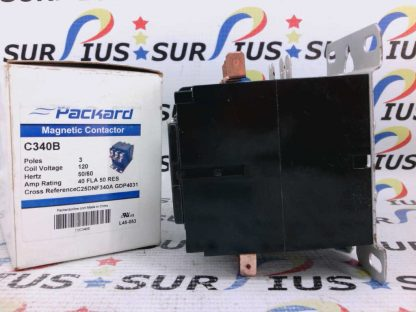 Packard C340B Magnetic Contactor 3 Pole C25DNF340A GDP4031