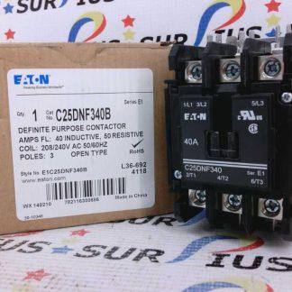 Eaton C25DNF340B Definite Purpose Contactor E1C25DNF340B