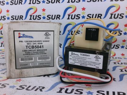 Beacon TCB5041 3.0A Circuit Breaker Class 2 Transformer 120/208/240/480V