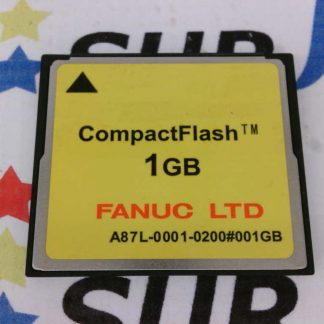 Fanuc A87L-0001-0200 A87L00010200 Compact Flash Card Memory 1GB 1 GB