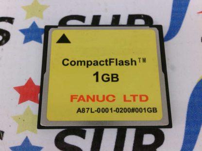 Fanuc A87L-0001-0200 A87L00010200 Compact Flash Card Memory 1GB 1 GB