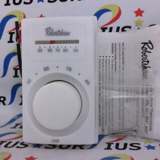 Robertshaw 803 Line Voltage Thermostat With Thermometer 1TKG1