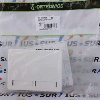 Ortronics OR-KSSMB4 4 Port Keystone Surface Mount Box Fog White