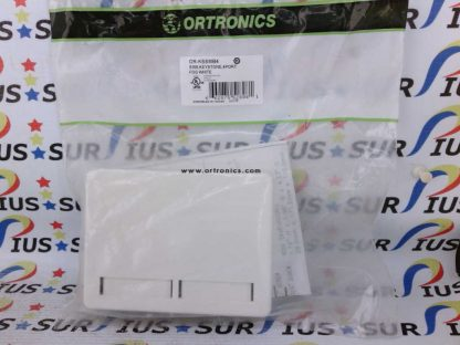 Ortronics OR-KSSMB4 4 Port Keystone Surface Mount Box Fog White