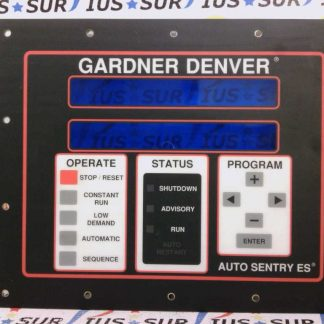 Gardner Denver Auto Sentry ES User Control Panel Air Compressor Controller