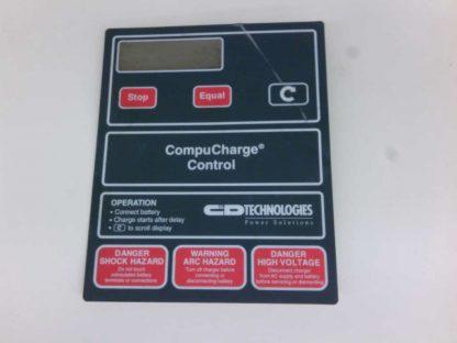 Ferro CompuCharge Control Operators Button Control Panel Membrane 090800