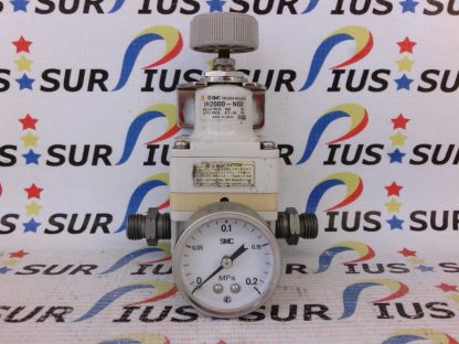 SMC IR2000-N02BG Precision Regulator With Guage NPT Set 0.7~30 PSI Max 150
