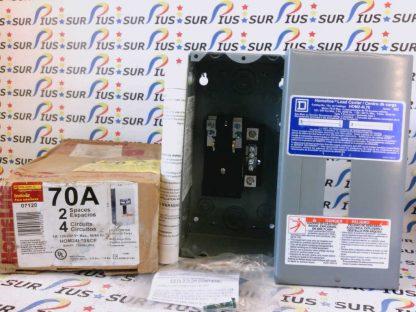 SQUARE D HOM2-4L70 Series 002 120/240V 50/60HZ 1Ph Homeline Load Center