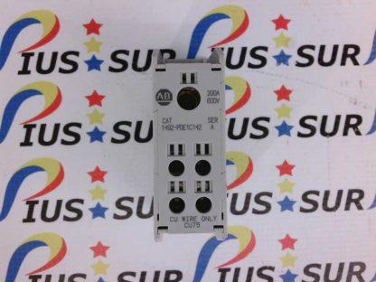 ALLEN BRADLEY 1492-PDE1C142 Ser. A 200A 600V Power Distribution Block