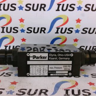 PARKER FM2 DD D S V 55 Throttle Check Valve Manapak FM2DDDSV 5000PSI 350Bar