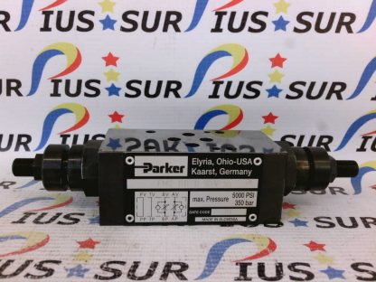 PARKER FM2 DD D S V 55 Throttle Check Valve Manapak FM2DDDSV 5000PSI 350Bar