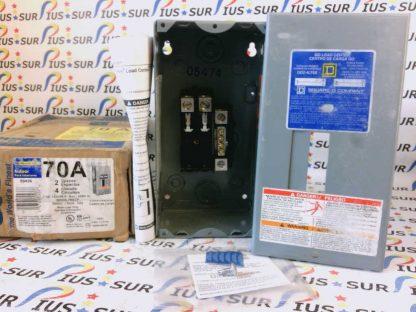 SQUARE D QO Load Center QO2-4L70S G02 Series Single Phase 120/240V 50/60Hz