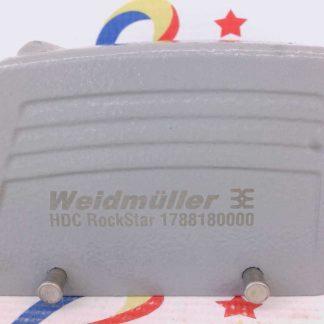 WEIDMULLER HDC RockStar 1788180000 Hood 6 Shell Aluminum Die Cast