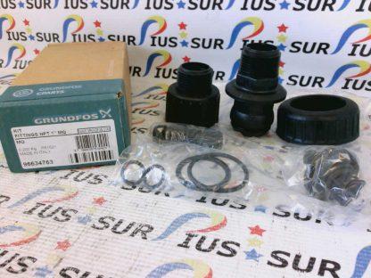 "GRUNDFOS 96634763 Pump Fittings Kit NPT 1"" MQ P61521"