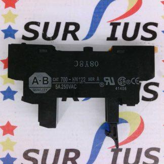 ALLEN BRADLEY 700-HN122 Ser. A Relay Socket Base 5A 250VAC