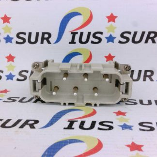 WEIDMULLER HSB Series Heavy Duty Connector 6 Pin Cable Mount 148700000