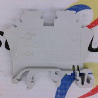 Unibloc RU4 Grey Terminal Block 600V 10AWG 800V/3 4mm