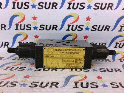 Hydraulik Ring HDRA01A06D1 Hydraulic Valve Controls 5000 PSI 350 bar