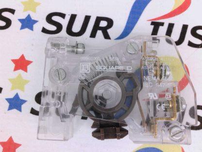 SQUARE D 9999SX6 Ser. B Contact Block