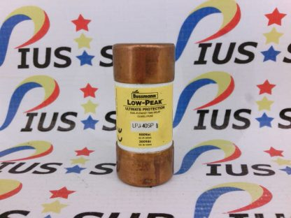 BUSSMANN LPJ-40SP 600Vac Low-Peak Dual Element Time Delay Class J Fuse