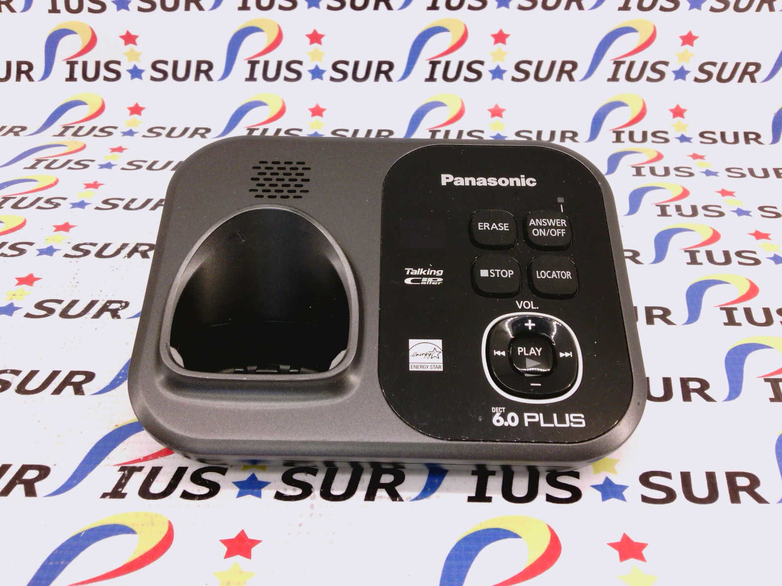 Panasonic KX-TG4731B KX-TG4731 B Black Phone System Main Base Only No Power