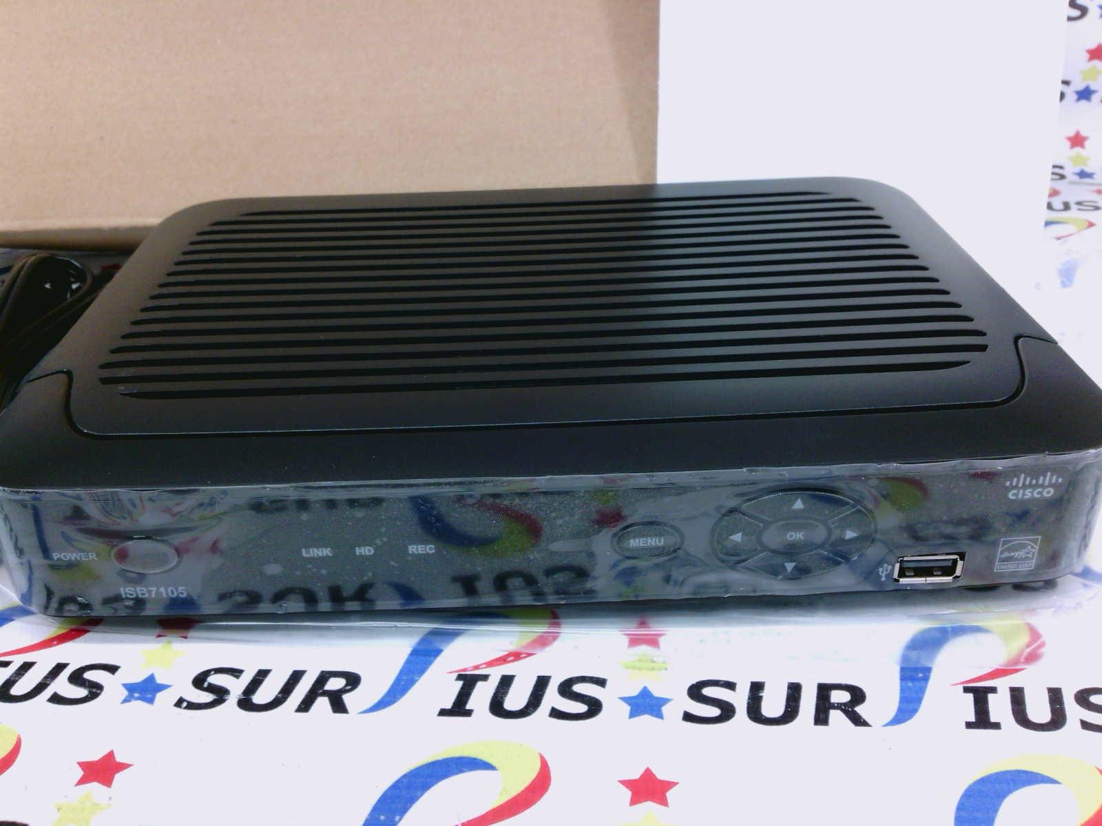 Cisco ISB7105 Wireless TV Receiver IPTV IP Set Top Box SD/HD WIFI 4044332