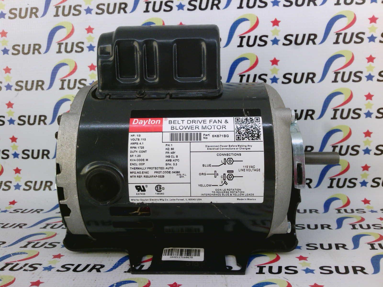 dayton 6k871 electric motor