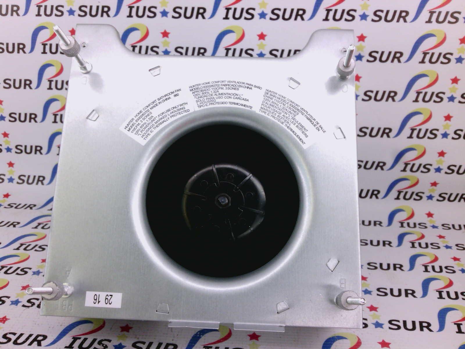 Hunter 83002 83702 95492-05-000 Blower Fan Motor DW-715 0 33A DW715 660  FM8216